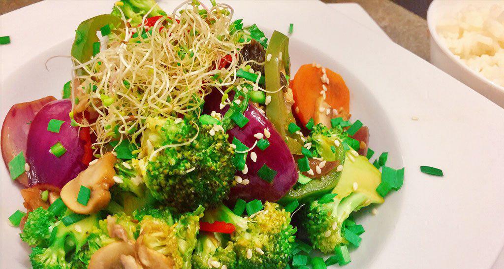 Chop suey vegano especial